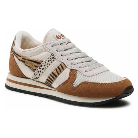 Sneakersy GOLA - Daytona Safari CLB019 Off White/Caramel