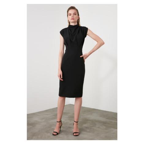 Sukienka damska Trendyol High Collar