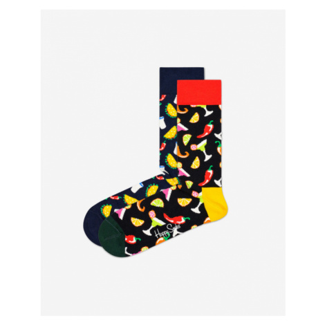 Happy Socks Taco Socks Gift Set 2-pack Skarpetki Wielokolorowy