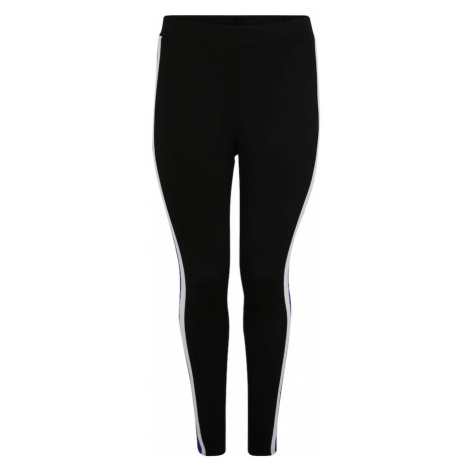 Zizzi Spodnie 'MNATALIA' niebieski / czarny / biały