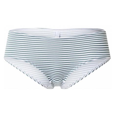 ESPRIT Dół bikini oliwkowy / biały