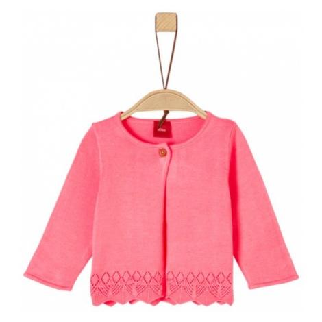 s.Oliver dziewczęcy sweter różowy