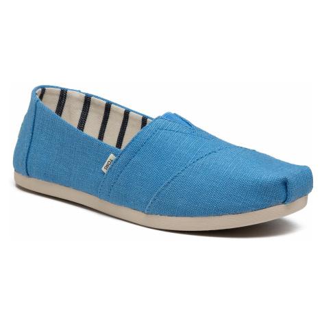 Półbuty TOMS - Alpargata 10016521 Azure Blue