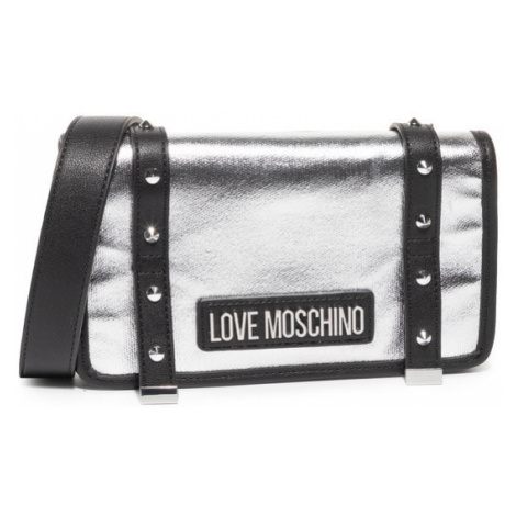 LOVE MOSCHINO Torebka JC4080PP1ALL190A Srebrny