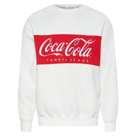 Tommy Jeans Bluzka sportowa 'TOMMY X COCA-COLA' czerwony / biały Tommy Hilfiger