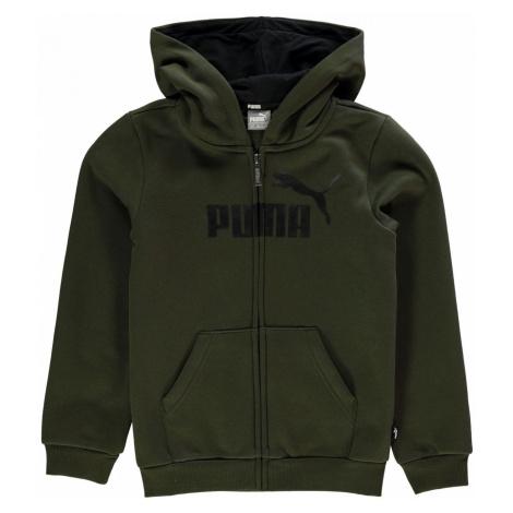 Puma No 1 Logo Zip Hoodie Junior Boys