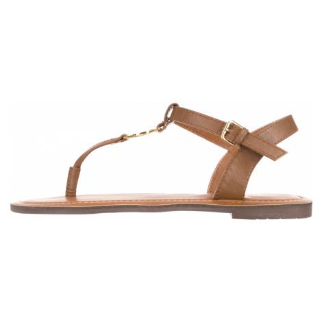 Tom Tailor Sandały Brązowy
