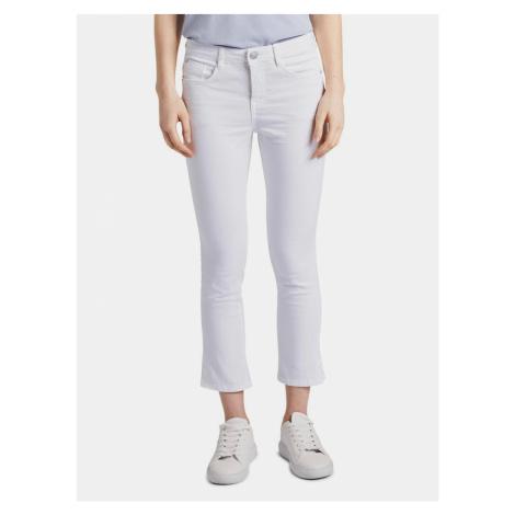 Białe spodnie damskie Tom Tailor