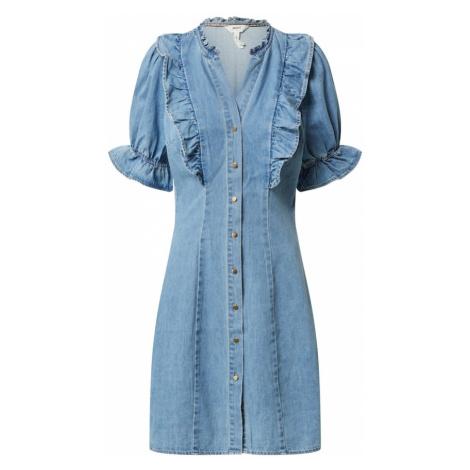 OBJECT Sukienka koszulowa niebieski denim