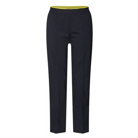 Calvin Klein Spodnie w kant 'POP ELASTIC CIGARETTE PANT' czarny