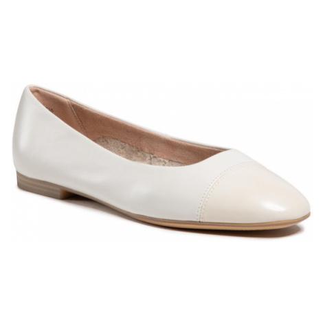 Tamaris Baleriny 1-22105-26 Biały