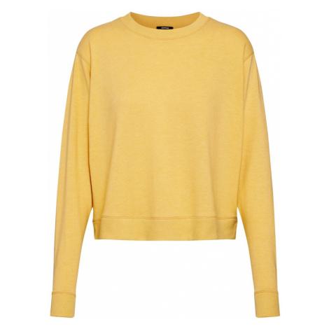 DENHAM Sweter 'SHOWA CREW KNIT C' żółty