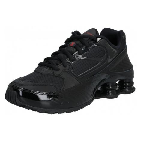 Nike Sportswear Trampki niskie 'SHOX ENIGMA 9000' czarny