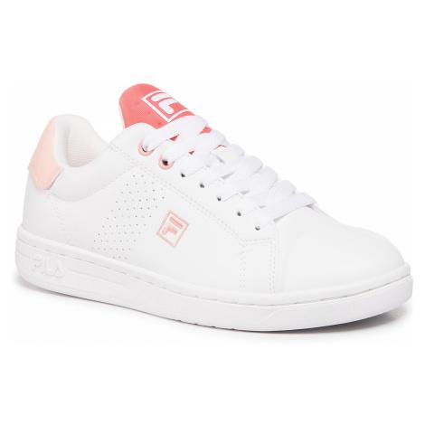 Sneakersy FILA - Crosscourt 2 Nt Kids 1011115.85K White/Spiced Coral