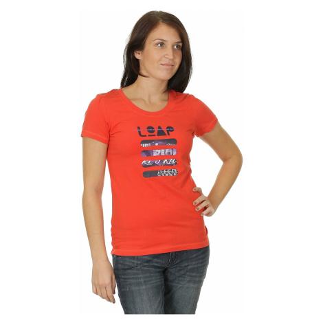 koszulka Loap Maggie - E35E/Neon Red