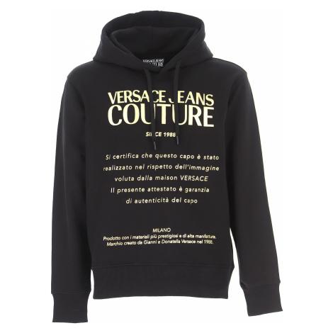 Versace Jeans Couture Uroda, czarny, Bawełna, 2021