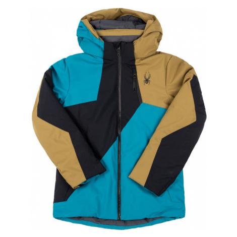 Spyder Kurtka narciarska Ambush 195018 Kolorowy Regular Fit