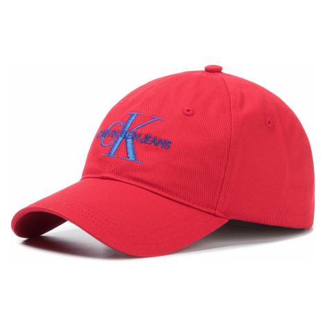 Czapka z daszkiem CALVIN KLEIN JEANS - J Monogram Cap With Embroidery K50K505320 XA9
