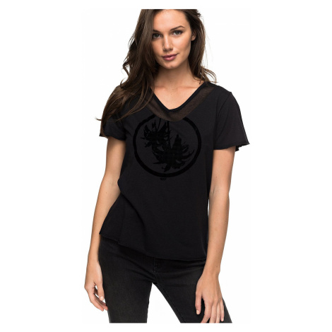 koszulka Roxy Black Siren True Love - KVJ0/Anthracite