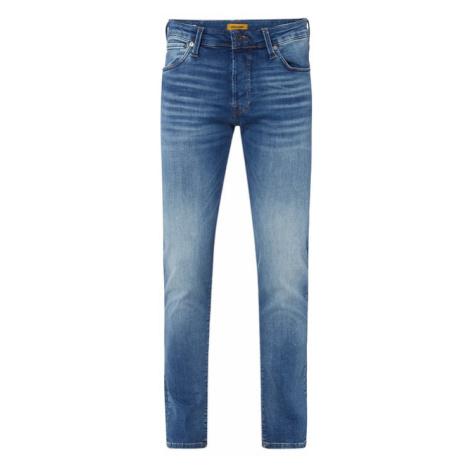 Jeansy w dekatyzowanym stylu o kroju slim fit Jack & Jones
