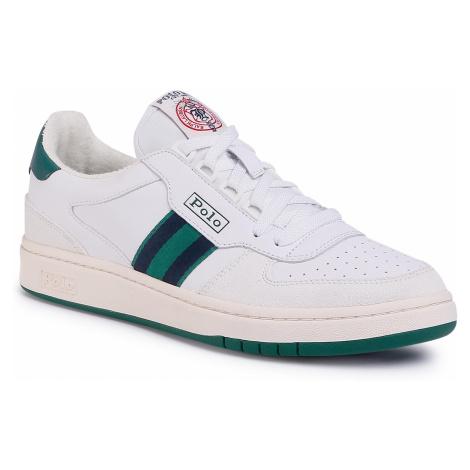 Sneakersy POLO RALPH LAUREN - Court 809784401002 White/Kelly Green/Newport Navy