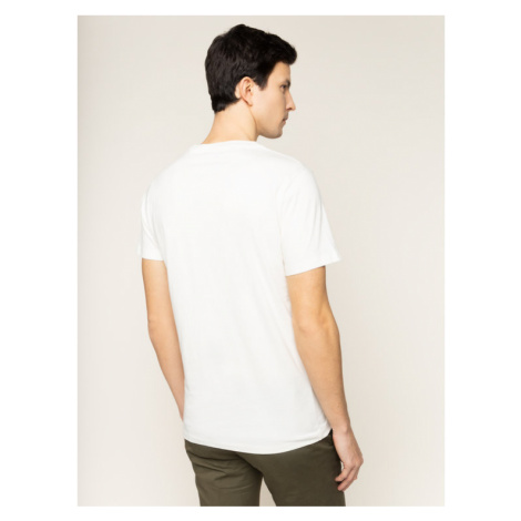 Pepe Jeans T-Shirt Betrand PM506906 Beżowy Regular Fit