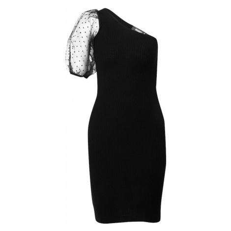 Missguided Sukienka 'Organza' czarny