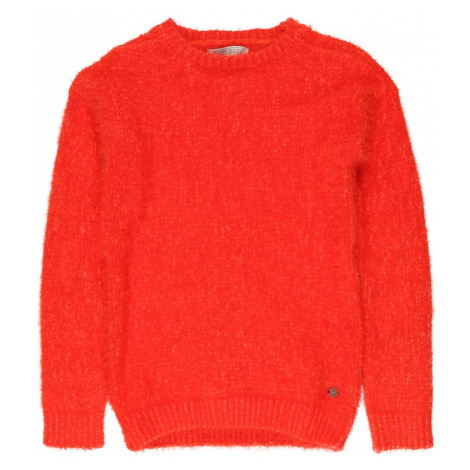 Cars Jeans Sweter 'Chenille ' pomarańczowy