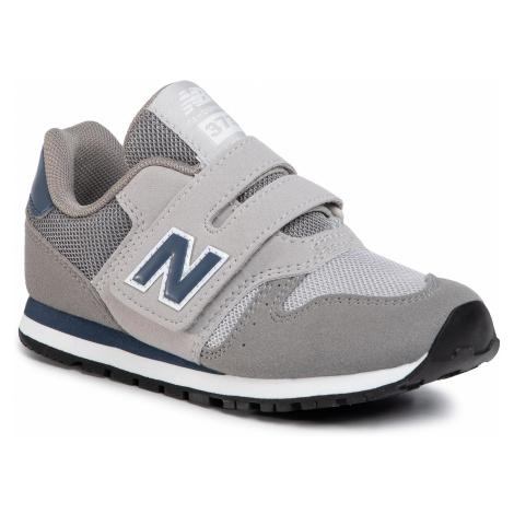 Sneakersy NEW BALANCE - YV373KG Szary