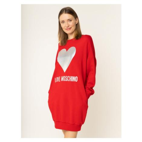 Sukienka dzianinowa LOVE MOSCHINO