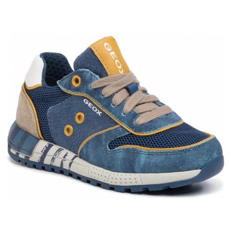 Sneakersy GEOX - J Alben B. B J029EB 0NB22 C4289 M Avio/Beige