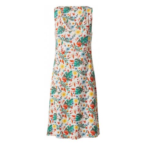TOM TAILOR Sukienka biały / mieszane kolory