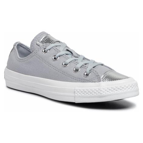Trampki CONVERSE - Ctas Ox 565202C Wolf Grey/Wolf Grey/White