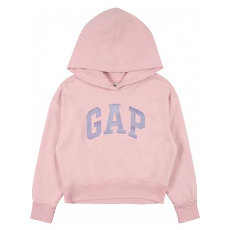 GAP Bluzka sportowa różowy / szary