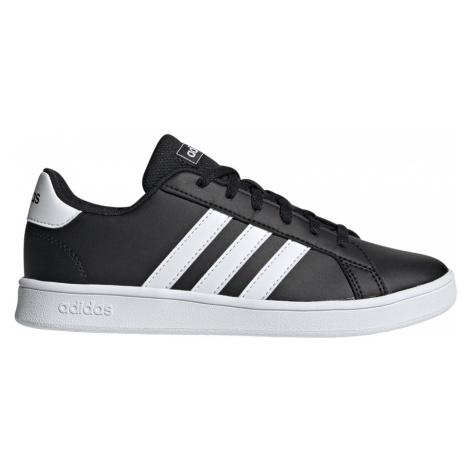 Adidas Grand Court Młodzieżowe Czarne (EF0102)