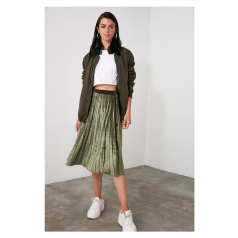 Spódnica damska Trendyol Pleated
