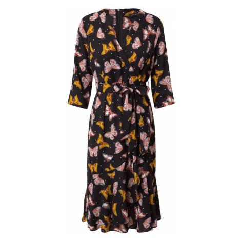 Mela London Sukienka czarny / mieszane kolory