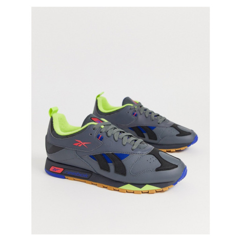 Reebok classic leather trainers recrafted in black