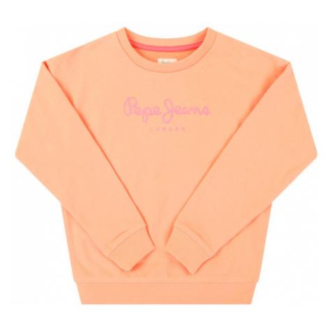 Pepe Jeans Bluza Rose PG581083 Pomarańczowy Regular Fit
