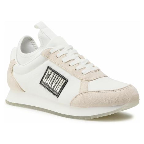 Sneakersy CALVIN KLEIN JEANS - Jodey B4S0715 Bright White/Sand