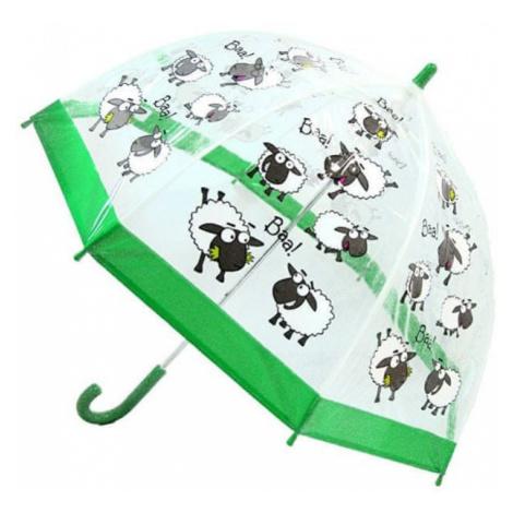 Blooming Brollies Dzieci Holovaty przezroczysty parasol Buggz Kids Stuff Sheep BUSH