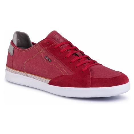 Sneakersy GEOX - U Walee A U022CA 0NB22 C7000 Red