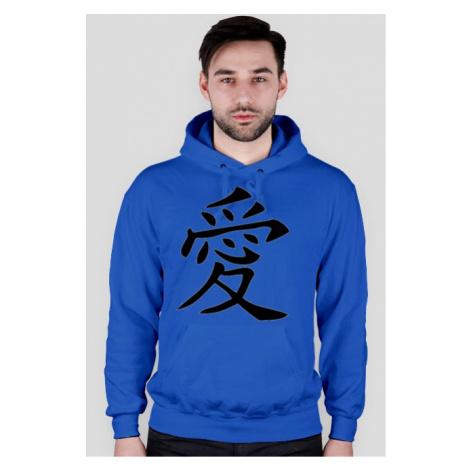 Bluza męska - chiński znak miłości- nwk