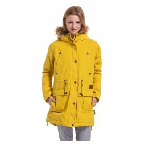 MEATFLY Kurtka damska Rain y 3 Park Yellow