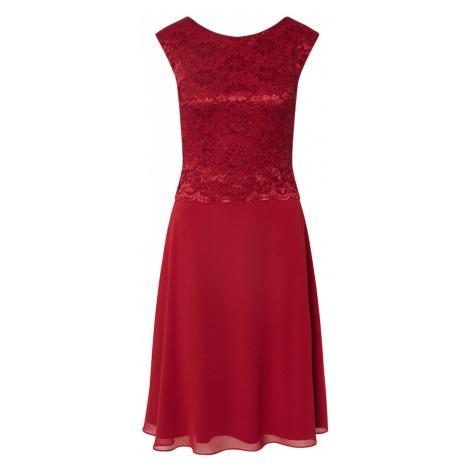 SWING Suknia wieczorowa bordowy