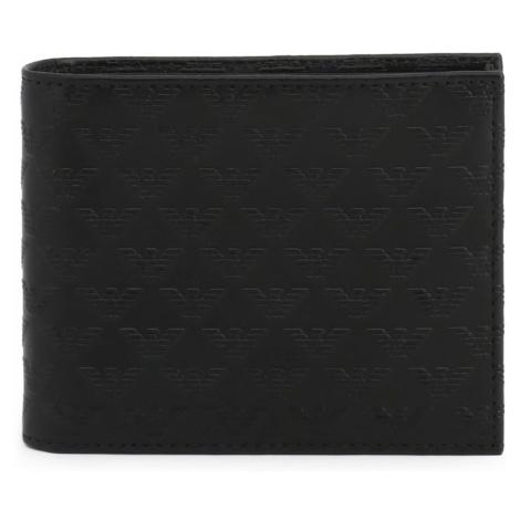 Męskie portfele,etui na dokumenty i wizytowniki Armani