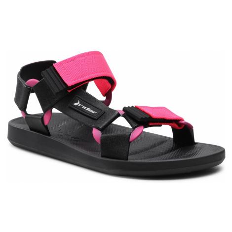 Sandały RIDER - Free Papete Ad 11567 Black/Pink 20753