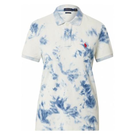 POLO RALPH LAUREN Koszulka jasnoniebieski / biały