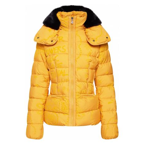 Desigual Kurtka zimowa 'PADDED_SUNNA' żółty