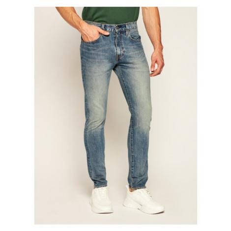 Levi's® Jeansy 512™ 28833-0655 Granatowy Slim Taper Fit Levi´s